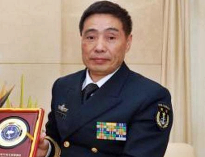 Vice Admiral Shen Jinlong Is New Commander Of The Peoples Liberation Army Navy Science Chinatopix