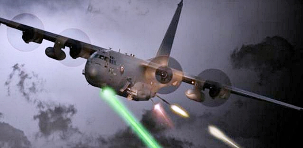 Us Air Force To Test 120 Kw Combat Laser On Ac 130j
