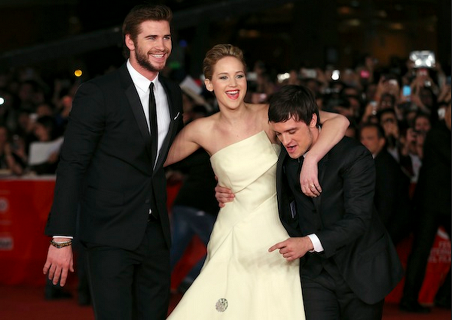 Who is jennifer lawrence dating liam h