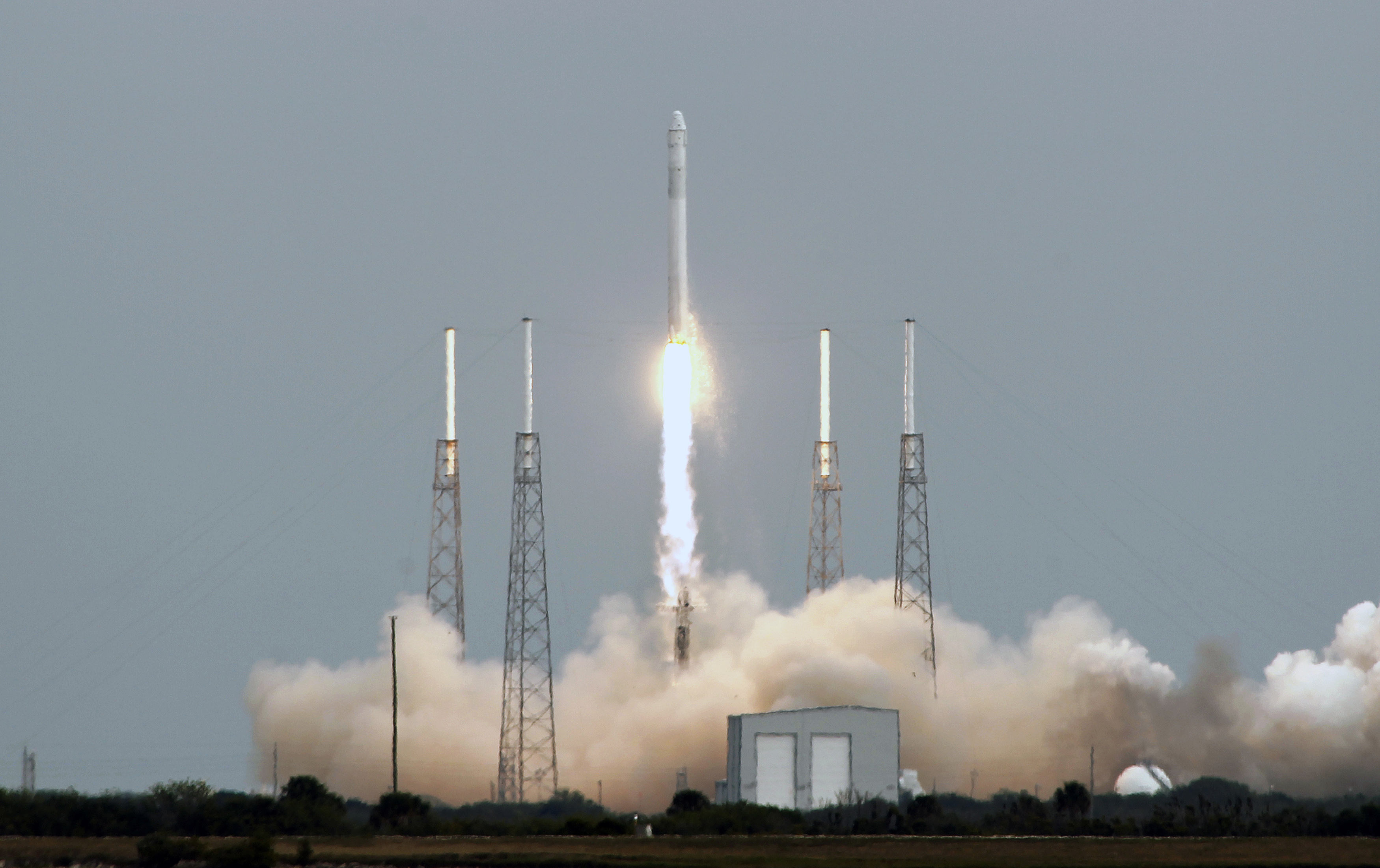 SpaceX Rocket Explodes and Crashes in Texas : Science ...