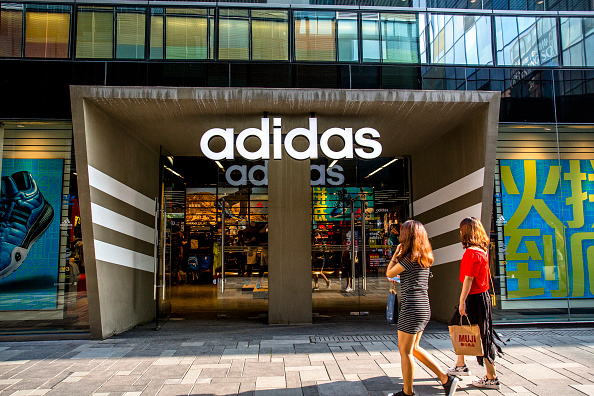 Adidas is Fast Closing on Rival Nike in China : Business : C