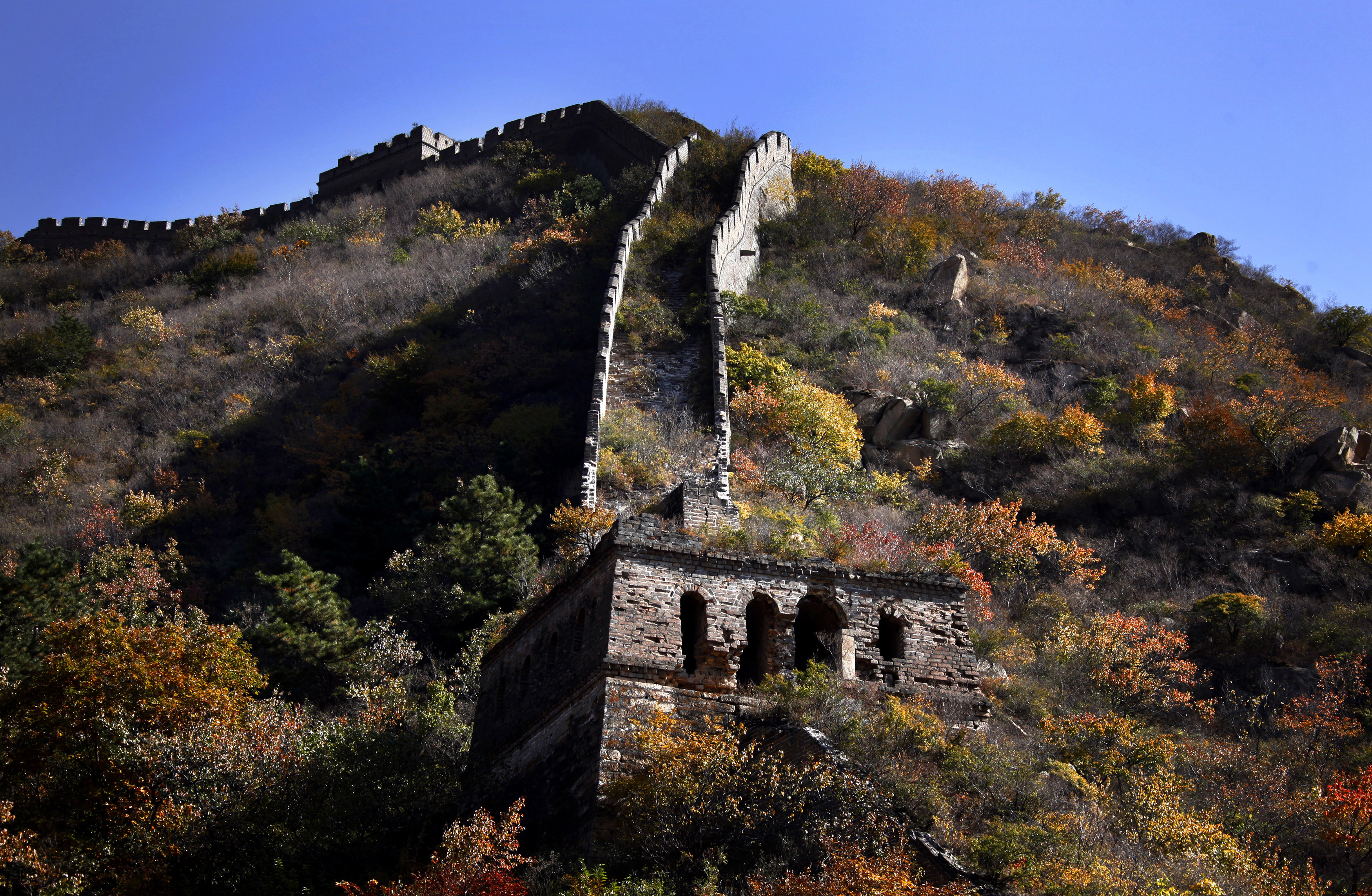The Great Wall of China Is Falling Down Experts Warn Culture