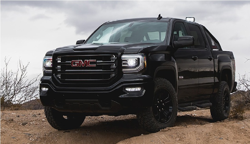 gmc unveils new sierra hd all terrain x off road pickup truck business chinatopix. Black Bedroom Furniture Sets. Home Design Ideas