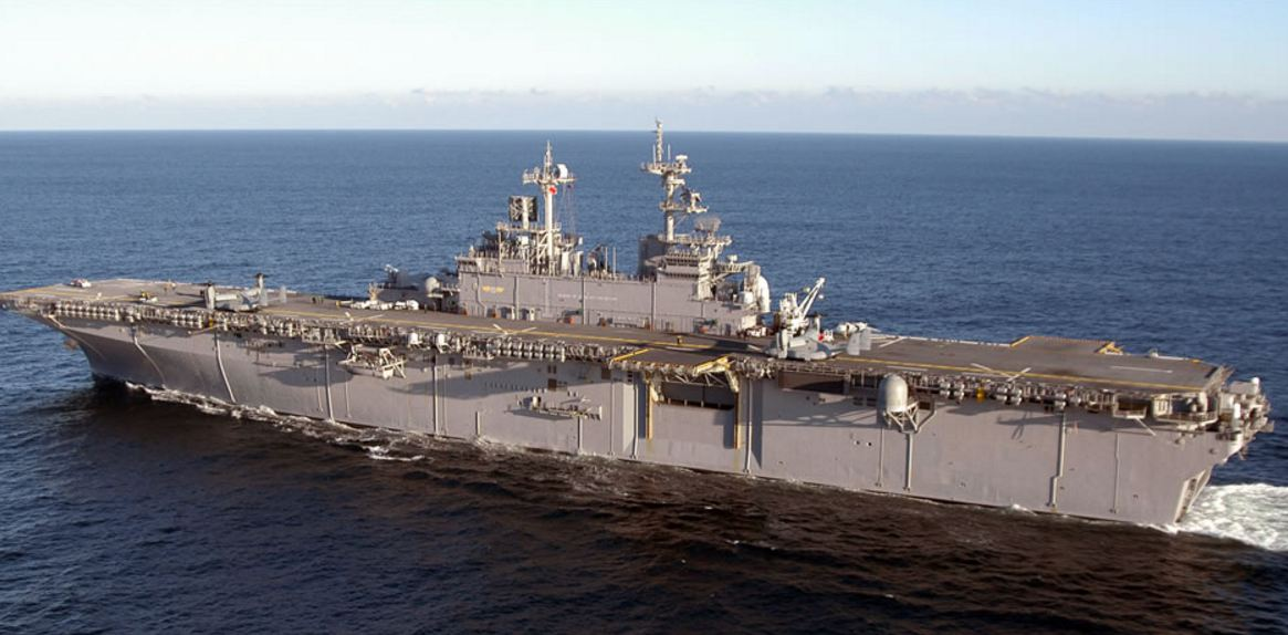 USS Wasp Will Deploy To Japan In 2017 To Keep An Eye On Chin