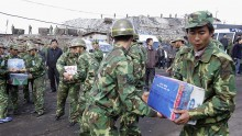China and the US military troops have conducted a joint humanitarian military drill on Friday in Kunming City.