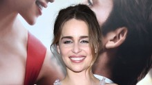 Actress Emilia Clarke attends 'Me Before You' World Premiere at AMC Loews Lincoln Square 13 theater on May 23, 2016 in New York City.