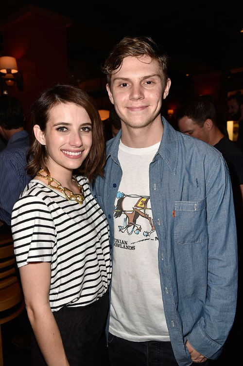 Emma Roberts and Evan Peters got engaged again