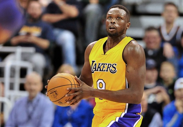 Los Angeles Lakers forward Luol Deng