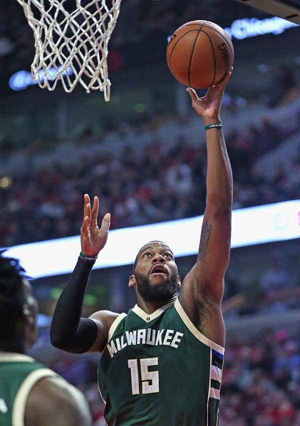 Milwaukee Bucks center Greg Monroe
