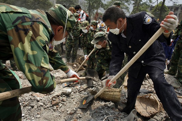 Rescue operations is still ongoing after a 6.7 magnitude earthquake hit the region last week on Friday