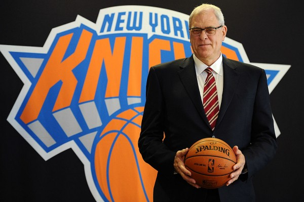 New York Knicks president Phil Jackson