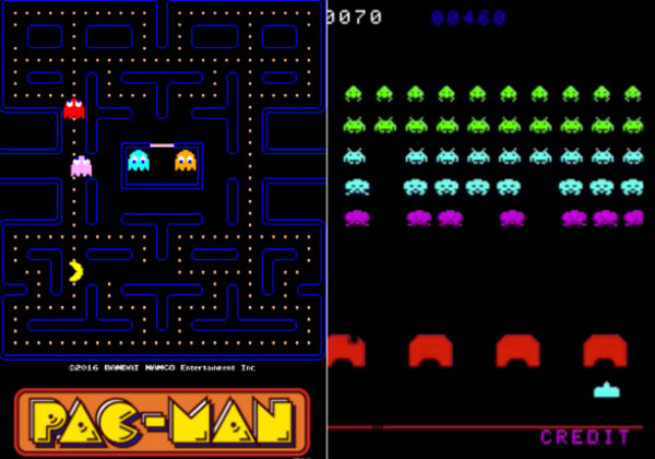 """Pac-Man"" and ""Space Invaders"" now available on Facebook Messenger"