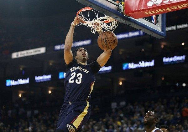 New Orleans Pelicans center Anthony Davis