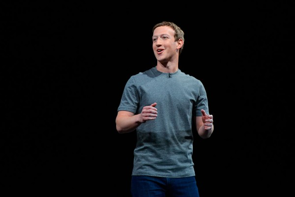 Facebook founder and CEO, Mark Zukerberg.