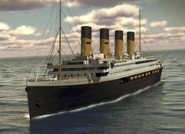 Construction of the World's First Life-Size Titanic Ship Replica kicked off in China