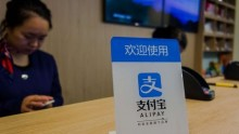 Alipay dominates China with 450 million users.