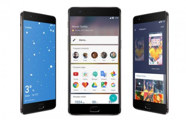 OnePlus 3 and 3T Smartphone Receives New OxygenOS 4.0.1 Update