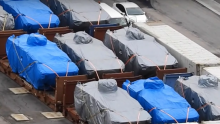 Singapore's defense ministry on Monday demanded for the immediate release of the nine military vehicles seized by Hong Kong authorities in November.