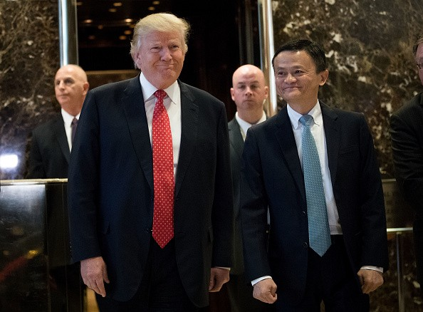 Alibaba's Jack Ma Offers Trump One Million American Jobs