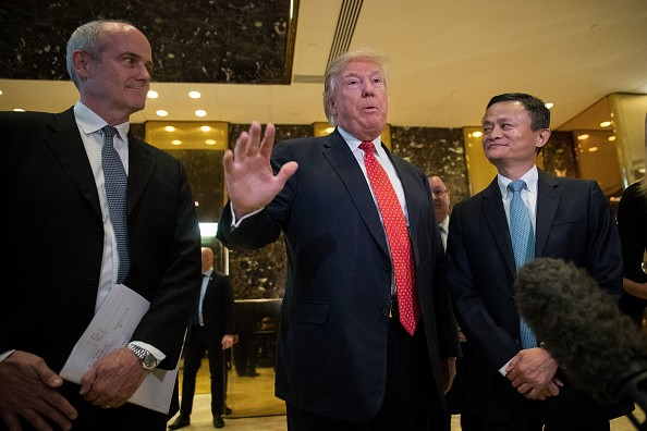 Ma said that Alibaba has the potential to create thousands of jobs by letting US businesses sell to China.