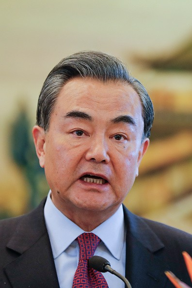 Chinese Foreign Affairs Minister Wang Yi