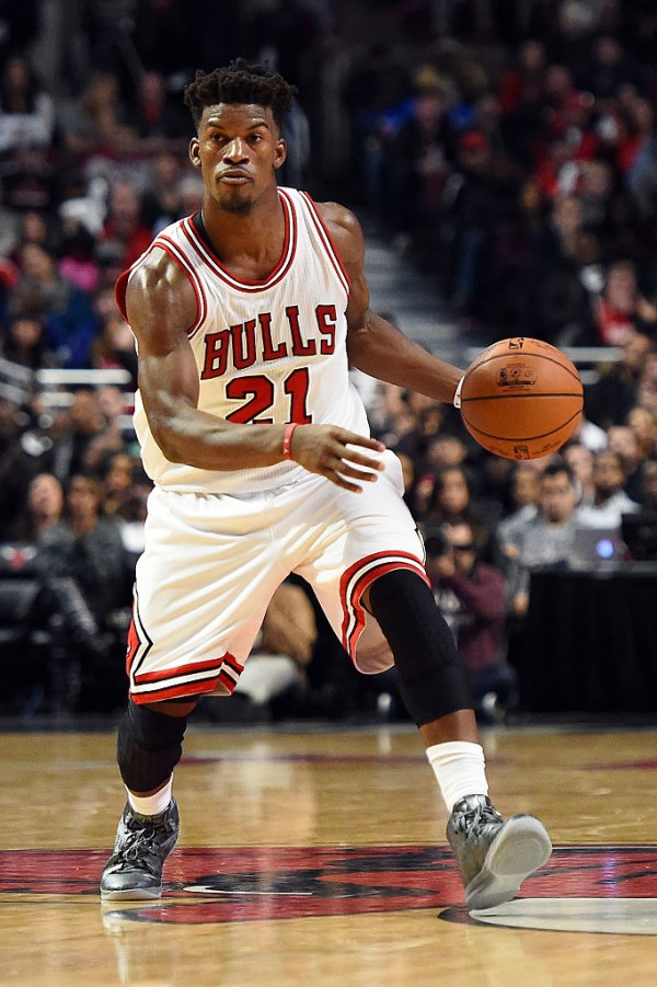 Chicago Bulls small forward Jimmy Butler