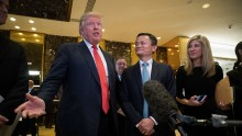 Jack Ma has praised Trump saying he is a