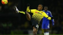 Watford striker Odion Ighalo