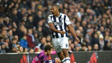 West Brom striker Salomon Rondon