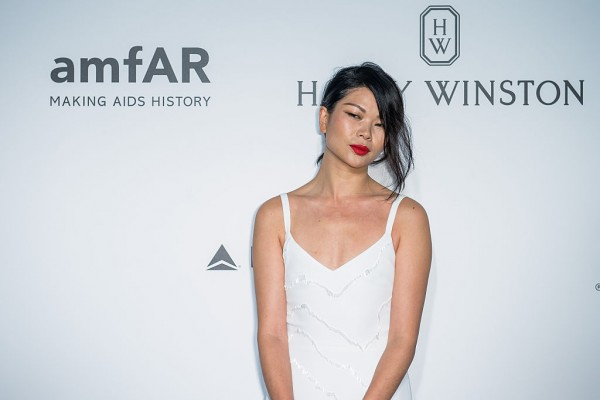 Lu Yan attends the 2016 amfAR Hong Kong gala at Shaw Studios on March 19, 2016 in Hong Kong, Hong Kong.