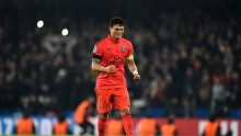 Paris Saint-Germain defender Thiago Silva