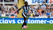 Former Newcastle United midfielder Cheick Tiote
