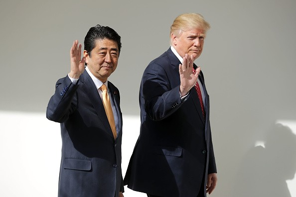 Donald Trump Assures Japan.