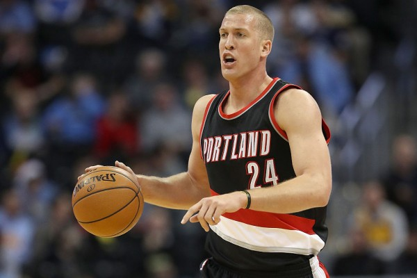 Portland Trail Blazers center Mason Plumlee