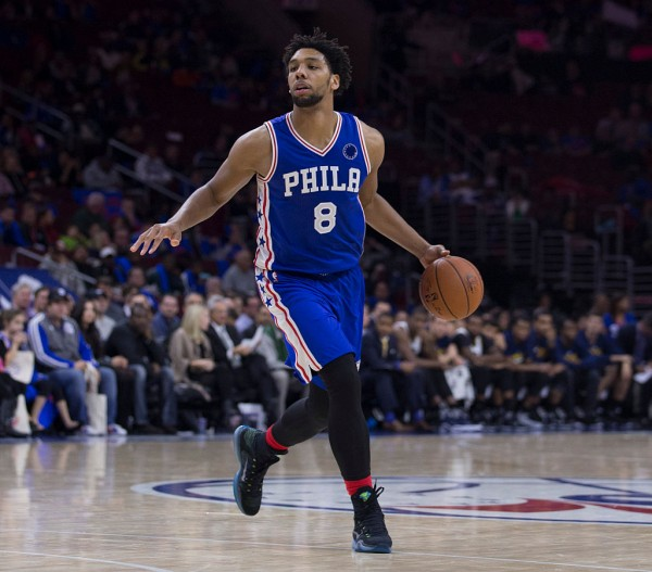Philadelphia 76ers center Jahlil Okafor