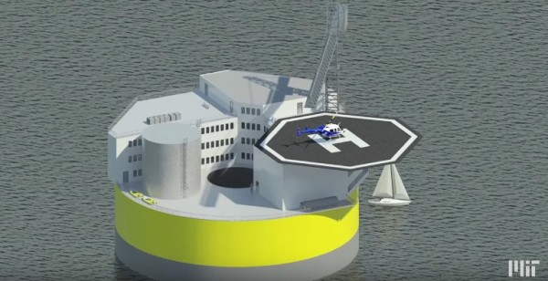 China plans to create a floating nuclear power plant.