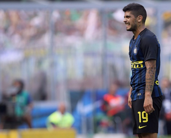 Inter Milan midfielder Ever Banega