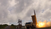 US will likely deploy its THAAD anti-ballistic missile system in June.