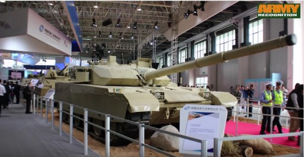 Check out the slate of Chinese weapons displayed at the IDEX 2017.