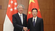 China and Singapore Sign Four Key Agreements.
