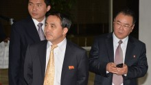 North Korea's top Diplomat Arrives in China.