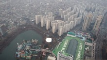 Lotte World Tower Under Construction Previewed