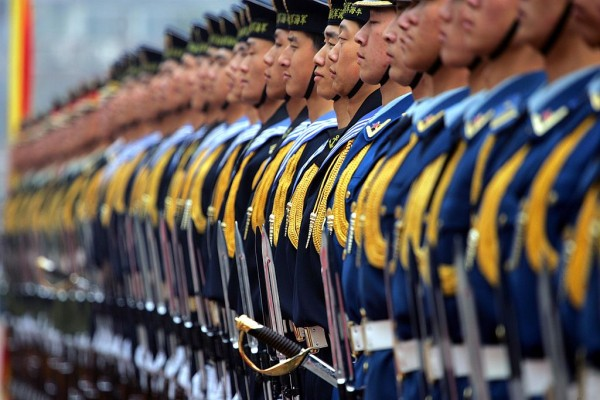 China plans to increase the size of its marines to safeguard its maritime rights.