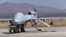 US deployed its Gray Eagle attack drone to South Korea.