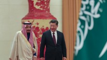 Saudi Arabia's King Salman Arrives in China.