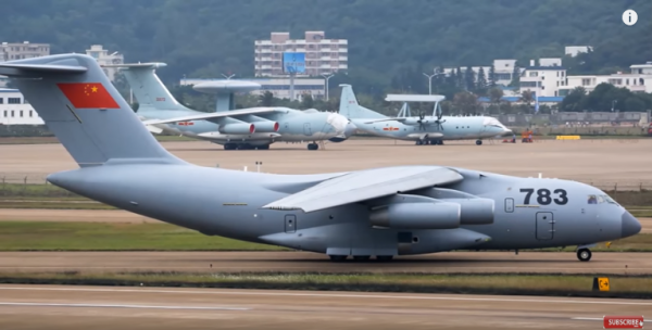 China to start production of Xian Y-20 military transport aircraft.