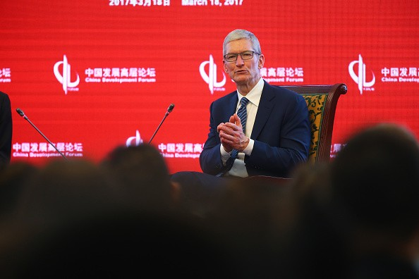 Apple's CEO Tim Cook's Speech in China.