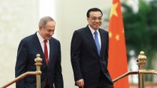 Israel PM Netanyahu Arrives in China.