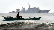 China Denies Scarborough Shoal Build Up.