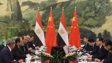 President Abdel Fattah al-Sisi of Egypt Visits China